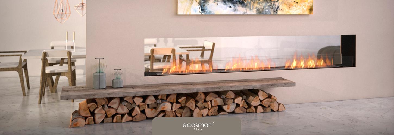 EcoSmart Fire FLEX Feuerstellen ohne Asche, Rauch, Russ, Glut