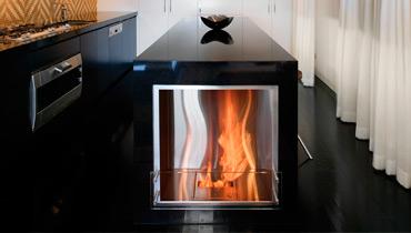 EcoSmart Fire Feuerstelle Premium Firebox 650SS, Feuer ohne Rauch und Russ