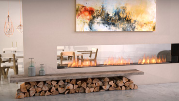 EcoSmart Fire: Ethanol fireplaces for outdoor use, clean, safe, without smoke, soot, ash or embers - Overview