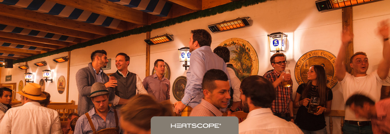 HEATSCOPE Power-Heizstrahler SPOT fuer Events, Volksfeste, Oktoberfest