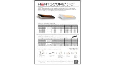 HEATSCOPE Ambiente-Heizstrahler Preisliste VK 2017