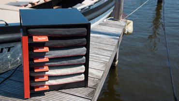 Heizkissen mit Akku-Technologie fuer kalte Tage von stoov