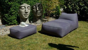 MOONICH Lounge: weatherproof lounge couch for the garden