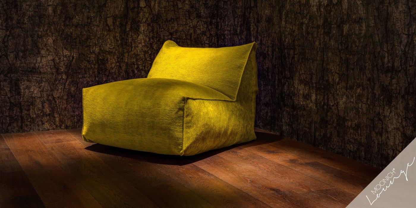 MOONICH Lounge: Sessel VIVARA, besonders bequem, samt-weich, luftig-leicht, fuer Wohnzimmer, Wintergarten, Fernseher