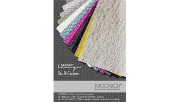 MOONICH Lounge Sessel und Sofas Farb-Karte aller Farben und Stoffe