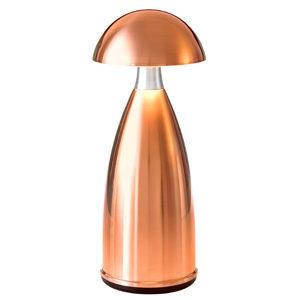 Neoz kabellose Leuchte Lampe Owl 1 Tall copper