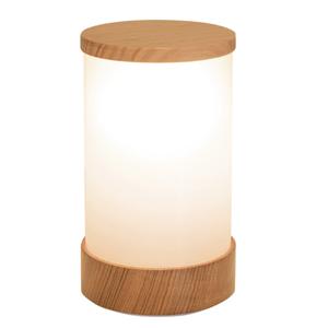 Neoz kabellose Leuchte Lampe Wood Victorian Ash