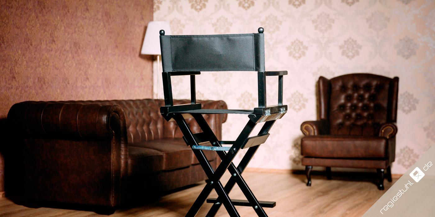 regiestuh.de: Regiestühle, Schminkstühle, Liegestühle mit individuellem Druck, ab 1 Stück