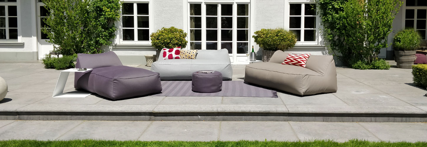 Armchairs and sofas, comfortable, light, soft, weatherproof - MOONICH Lounge