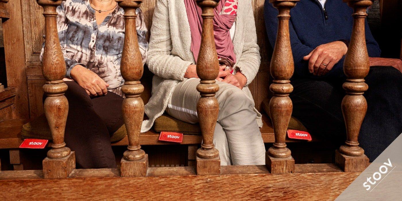 STOOV: Heizkissen fuer Veranstaltungen, Events, Kirchen, Privat und alle Aussenbereiche
