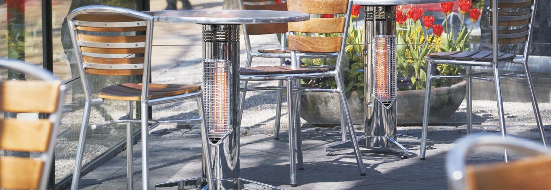 Sale: Mensa heating Infrarot Tischheizung