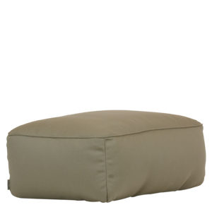 Moonich Lounge Lipari Medium Hocker Sitz Taupe-Grau Robben
