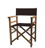 regiestuhl.de: Klappstuehle aus Holz, 22 Farben, Logo-Druck, ab 1 Stck., Modell: Oscar Outdoor-Stuhl, Iroko-Dunkelblau
