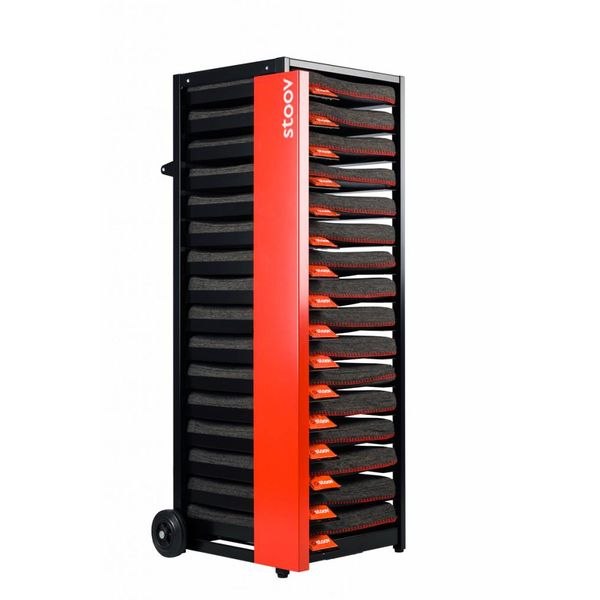 Stoov® Dock16 inkl. 16 x Heizkissen Eco: Sale! Kissen, Black/Charcoal, Detailfoto
