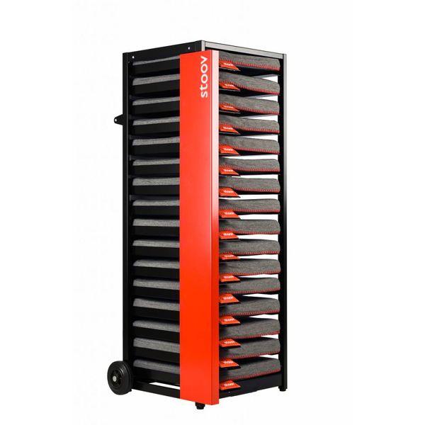 Stoov® Dock16 inkl. 16 x Heizkissen Eco: Sale! Kissen, Grey/Granit, Detailfoto