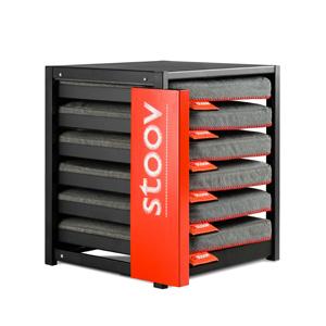 Stoov® Dock6 inkl. 6 x Heizkissen Eco: Sale! Kissen, Grey/Granit, Detailfoto
