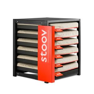 Stoov® Dock6 inkl. 6 x Heizkissen Eco: Sale! Kissen, Sand/Ashe Detailfoto